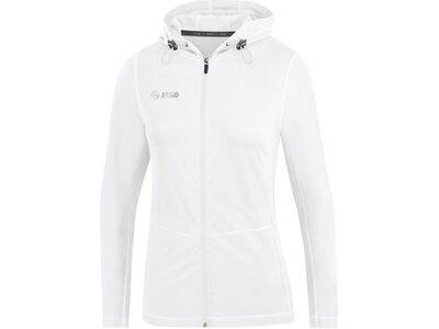 JAKO Damen Kapuzenjacke Run 2.0 Weiß