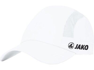 JAKO Unisex Cap Active Weiß