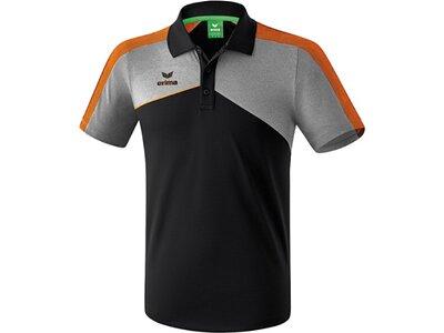 ERIMA Herren Premium One 2.0 Poloshirt Schwarz
