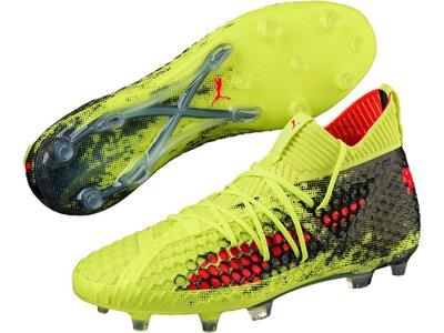 PUMA Fußball - Schuhe - Nocken FUTURE 18.1 NETFIT FG/AG Grün