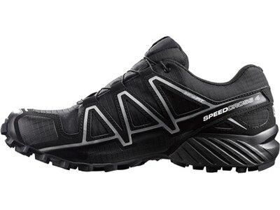"SALOMON Herren Laufschuhe / Trail Running Schuhe ""Speedcross 4 GTX"" schwarz Grau"