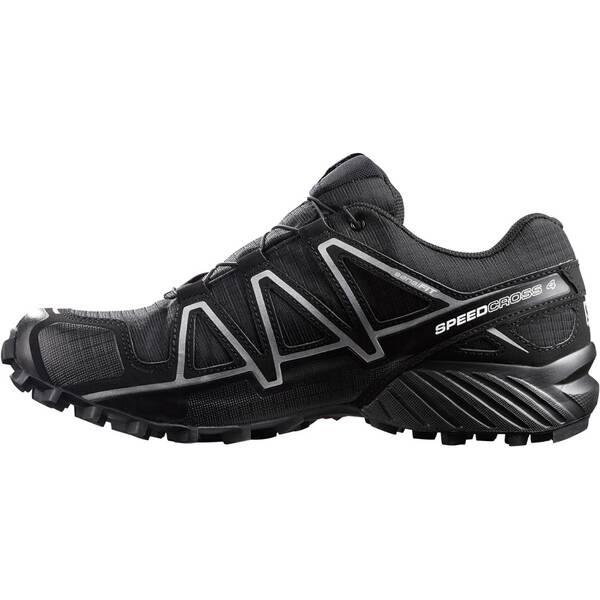 SALOMON Herren Laufschuhe / Trail Running Schuhe Speedcross 4 GTX schwarz Grau