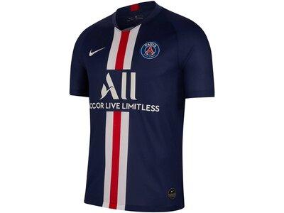 "NIKE Herren Fußball-Trikot ""Paris Saint-Germain 2019/20 Stadium Home"" Kurzarm Blau"