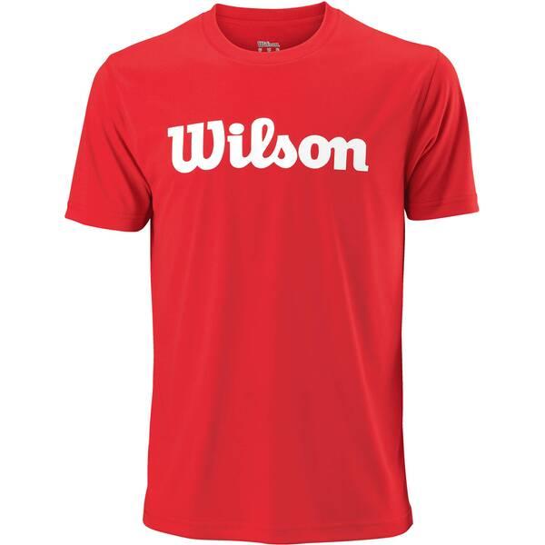 WILSON Herren Tennisshirt UWII Script Tech Tee Kurzarm