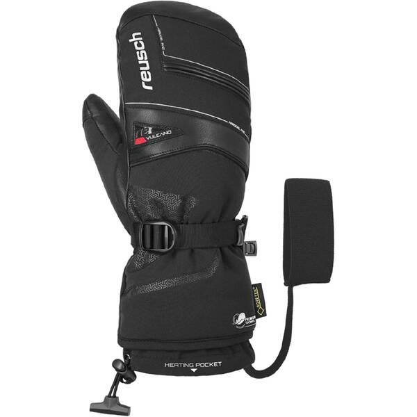 REUSCH Damen Skifäustlinge Volcano GTX Mitten | Accessoires > Handschuhe > Fäustlinge | Black - Red | Polyester | REUSCH