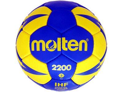 MOLTEN Handball Gr. 3 Blau