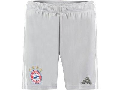 """ADIDAS Herren Fußballshorts """"FC Bayern Away 19/20"""" Weiß"""