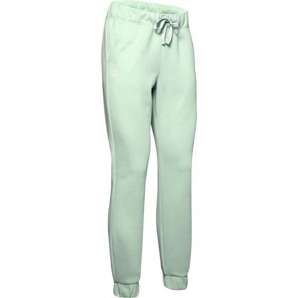 Hosen - UNDERARMOUR Damen Sweathose Recovery Fleece Pant › Silber  - Onlineshop Intersport