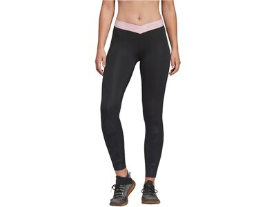 ADIDAS Damen Fitness-Tights 7/8-Länge Grau