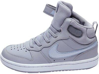 "NIKE Mädchen Kleinkind Mid-Cut-Sneaker ""Court Borough Mid 2"" Grau"