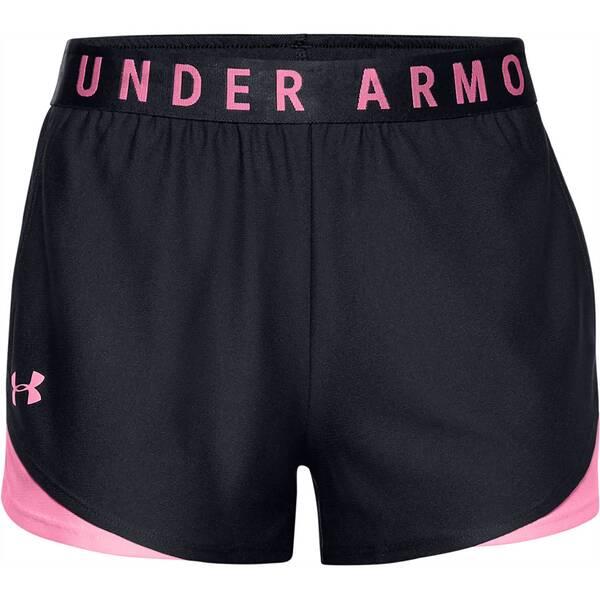 Hosen - UNDERARMOUR Damen Shorts Play Up Shorts 3.0 › Schwarz  - Onlineshop Intersport