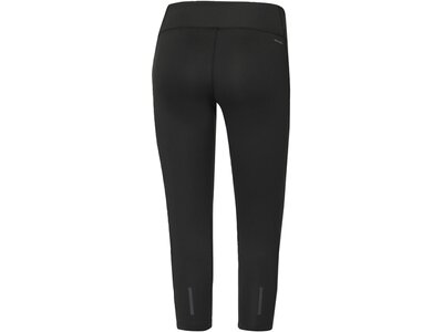 ADIDAS Damen Trainingshose / Fitnesshose D2M Three-Quarter 3-Streifen Tight Grau