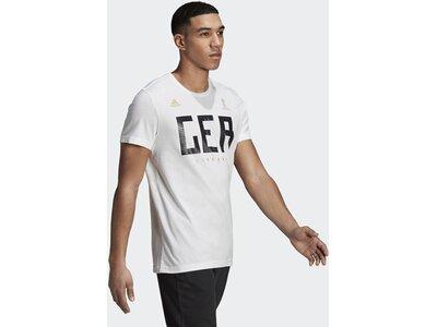 ADIDAS Herren T-Shirt Deutschland Weiß