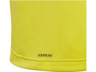 ADIDAS Jungen Kinder Trainingsshirt Kurzarm Gelb