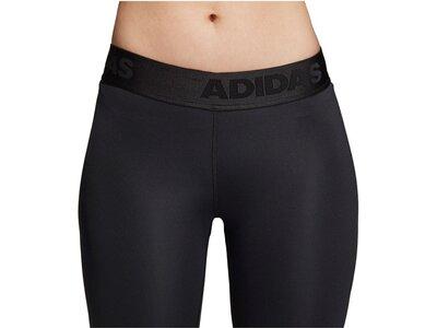 """ADIDAS Damen 7/8-Tights """"Alphaskin Sport"""" Schwarz"""