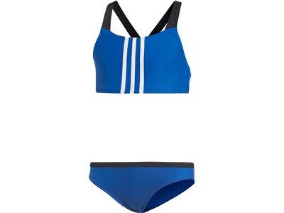 """ADIDAS Kinder Bikini """"3 Stripes"""" Schwarz"""