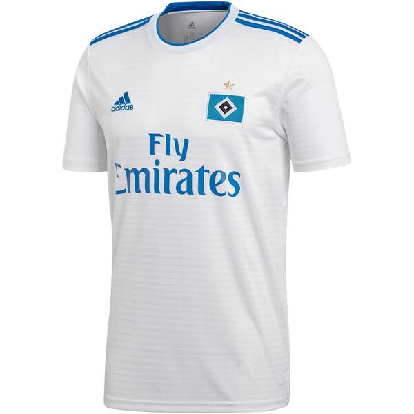 ADIDAS Herren Fußballtrikot Hamburger SV Heimtrikot
