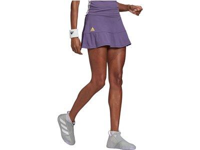 "ADIDAS Damen Tennisrock ""Match Skirt HEAT.DRY"" Grau"