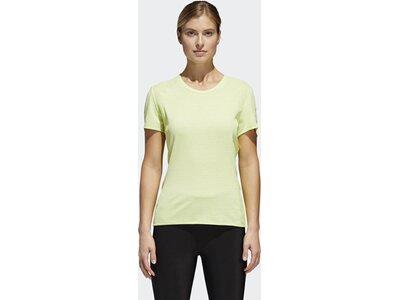 ADIDAS Damen Supernova 37c T-Shirt Gelb