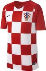 NIKE Kinder Fußballtrikot Croatia Stadium Home WM 2018