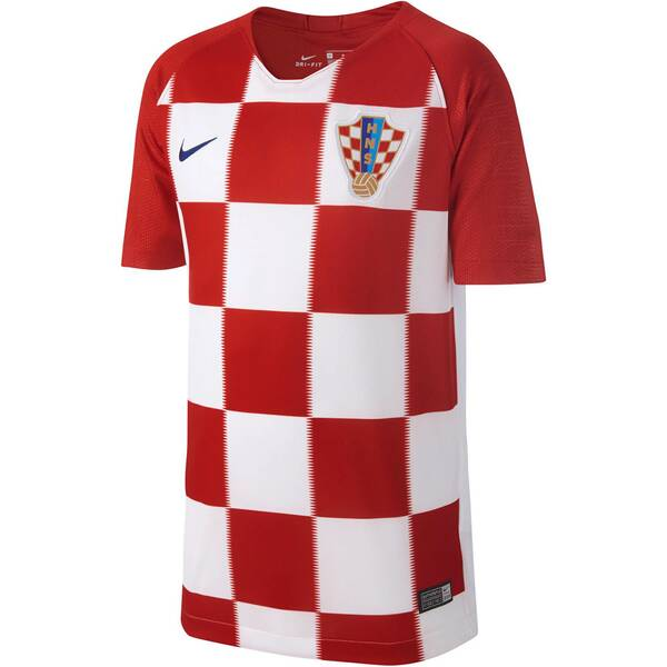 NIKE Kinder Fußballtrikot Croatia Stadium Home WM 2018