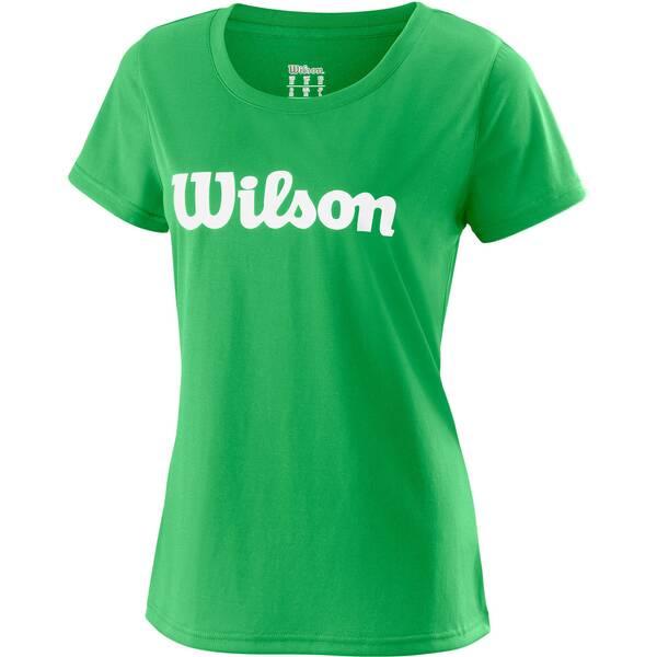 WILSON Damen Tennisshirt UWII Script Tech Tee Kurzarm | Sportbekleidung > Sportshirts > Tennisshirts | White | Wilson