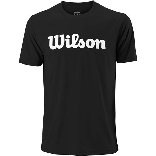 """WILSON Herren Tennisshirt """"Team Scripttech Tee"""" Kurzarm"""