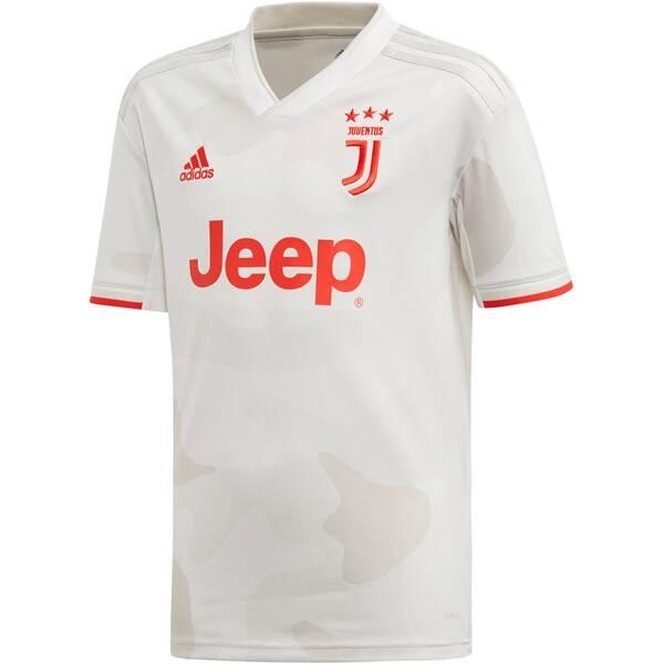 """ADIDAS Kinder Fußballtrikot """"19/20 Juventus Away Jersey Youth"""" Kurzarm - Replica"""
