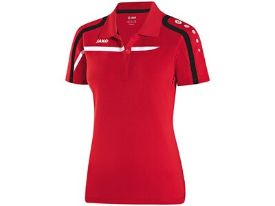 JAKO Damen Polo Performance Rot