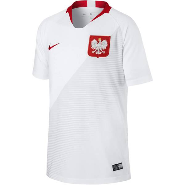 NIKE Kinder Fußballtrikot Poland Stadium Home WM 2018
