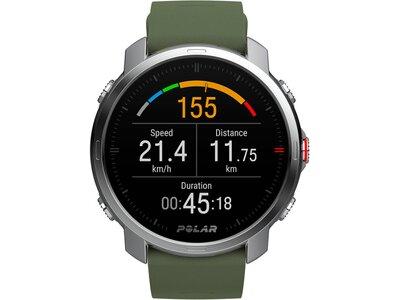 "POLAR GPS-Multifunktionsuhr ""Grit X GRN M/L"" Grau"