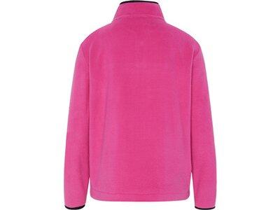 CHIEMSEE Fleece Pullover mit CHIEMSEE Frontprint Pink