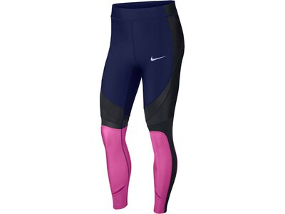 "NIKE Damen Lauftights ""Power Speed"" 7/8-Länge Schwarz"
