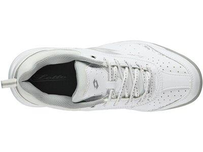 "LOTTO Damen Tennisschuhe ""Court Logo VIII"" Indoor Weiß"