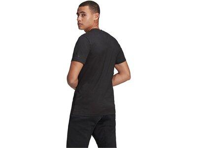 """ADIDAS Herren T-Shirt """"VRCT Short Sleeve Tee"""" Kurzarm Regular Fit Schwarz"""