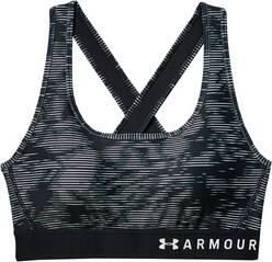 UNDERARMOUR Damen Sport-BH Armour Mid Crossback Printed Bra