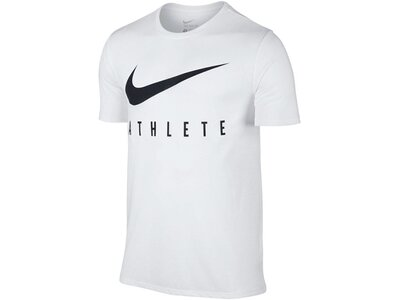 "NIKE Herren Trainingsshirt ""Dry Athlete"" Weiß"