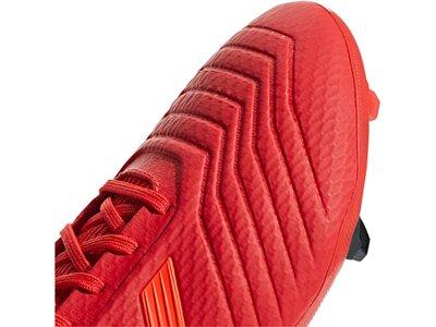 ADIDAS Herren Fußballschuhe Predator 19.3 FG Rot