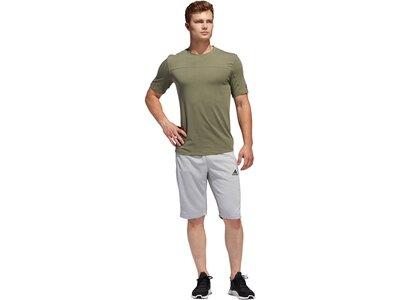 "ADIDAS Herren Trainingsshirt ""City Base Tee"" Grau"