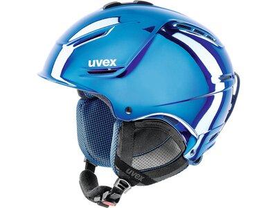 "UVEX Ski- und Snowboardhelm ""Plus Pro Chrome LTD"" Blau"