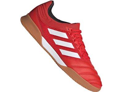 adidas Herren Copa 20.3 Sala IN Fußballschuh Rot
