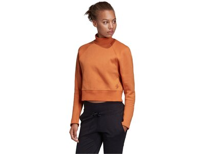 ADIDAS Damen Sweatshirt Orange