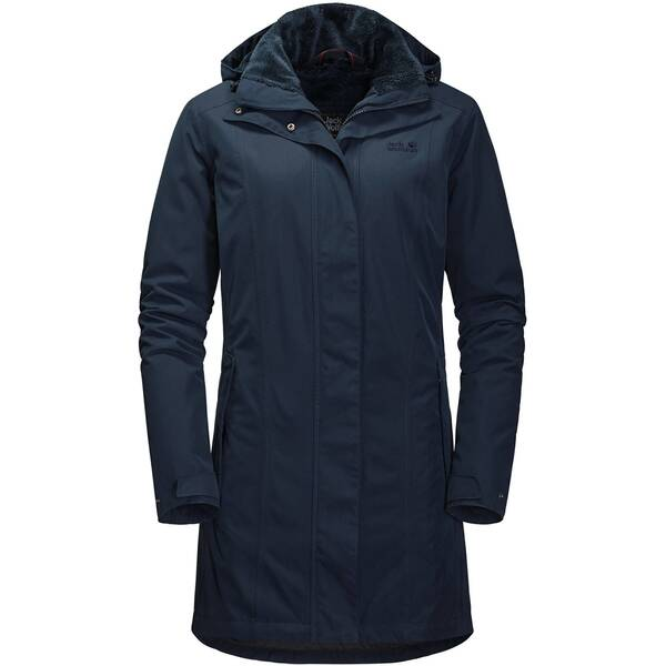 JACK WOLFSKIN Damen Mantel MADISON AVENUE COAT
