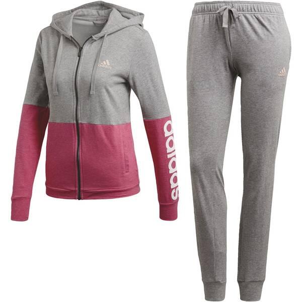 ADIDAS Damen Cotton Marker Trainingsanzug | Sportbekleidung > Sportanzüge > Trainingsanzüge | White | Adidas