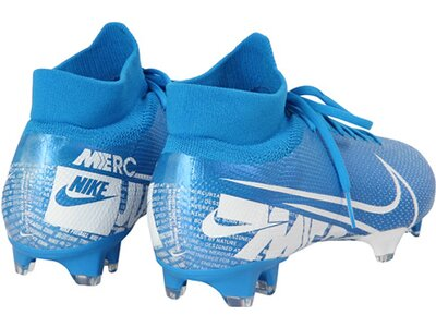 "NIKE Herren Fußballschuhe Rasen ""Mercurial Superfly 7 Pro FG"" Blau"