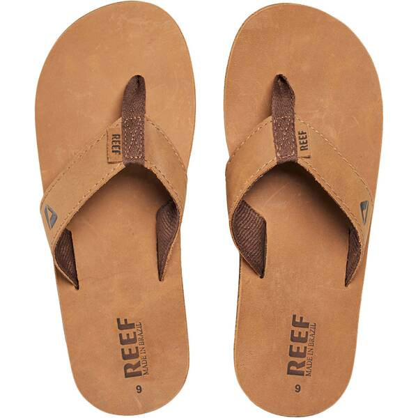 "REEF Herren Zehensandalen ""Leather Smoothy"""