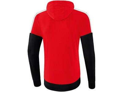 ERIMA Fußball - Teamsport Textil - Sweatshirts Squad Hoody Kids Rot
