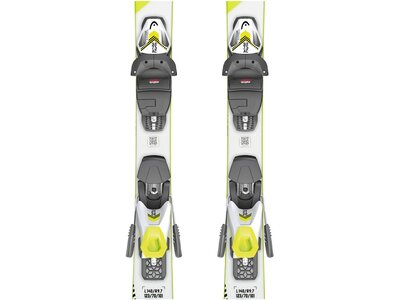 "HEAD Kinder Ski ""Supershape SLR Pro / SLR 7,5 GW"" inkl. Bindung Gelb"