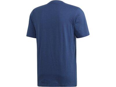 "ADIDAS Herren T-Shirt ""Essentials Linear"" Blau"