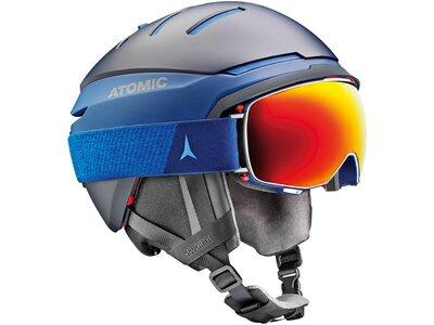 "ATOMIC Skibrille / Snowboardbrille ""Revent Q Stereo"" Blau"